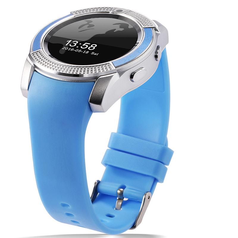 blue v8 watch phone