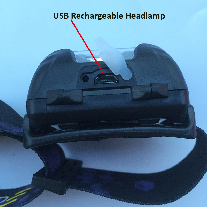 rechargeable headlamp for hunting