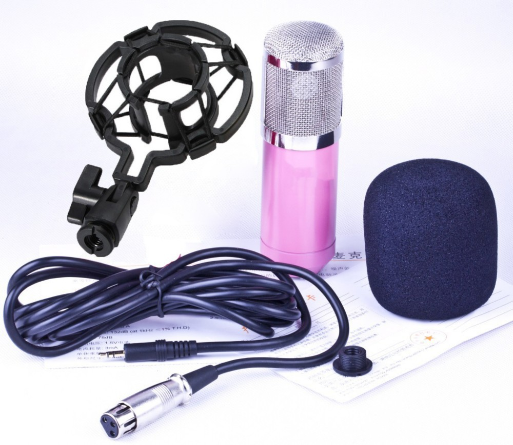 full set package and accessories of BM800 condenser microphone