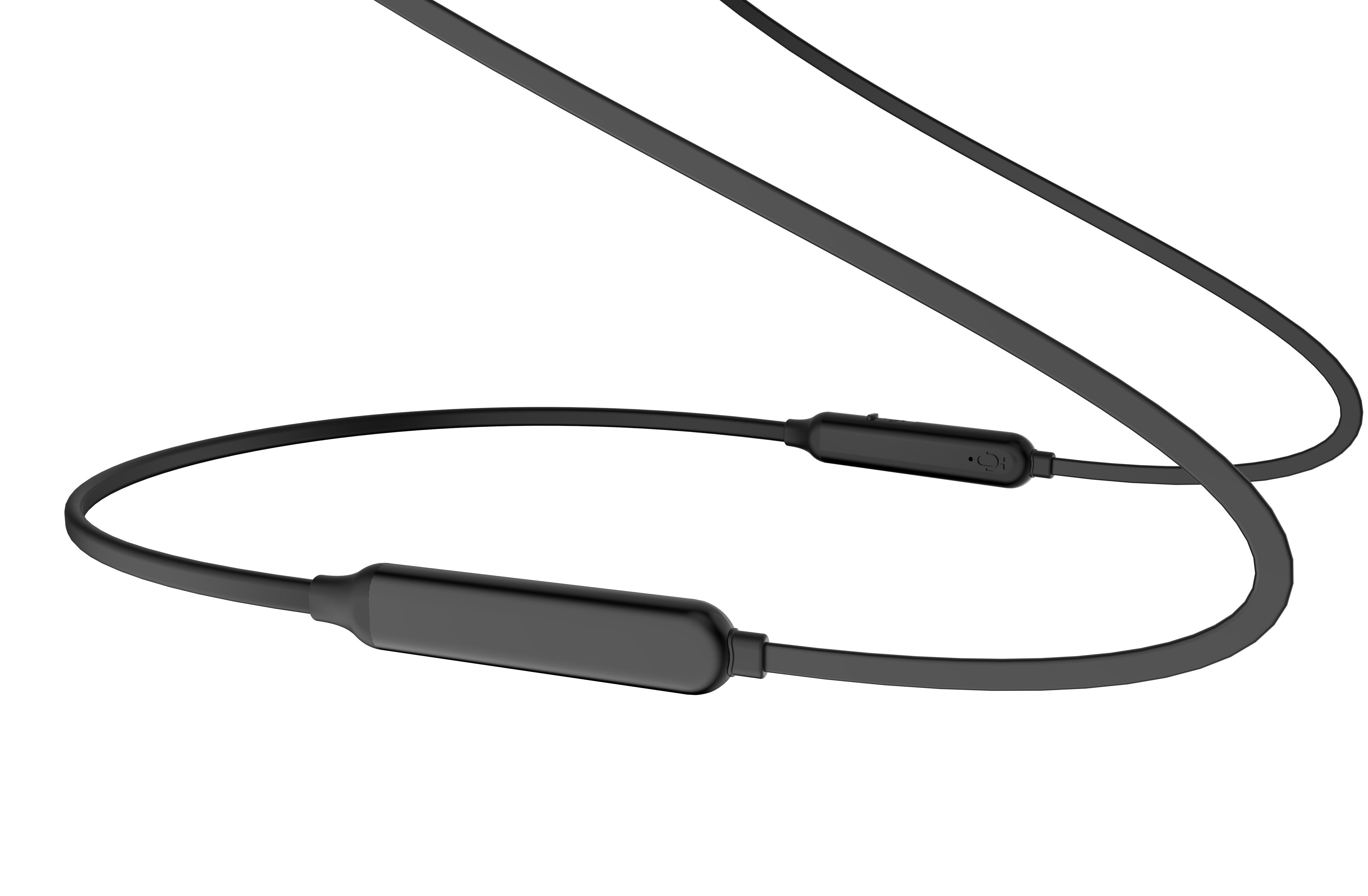 soft neckband running headset